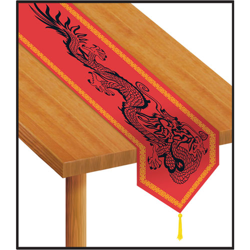 Printed Asian Table Runner