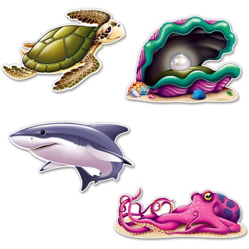 Sea Creature Cutouts