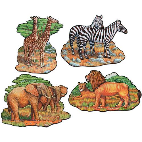 Zoo Animal Cutouts