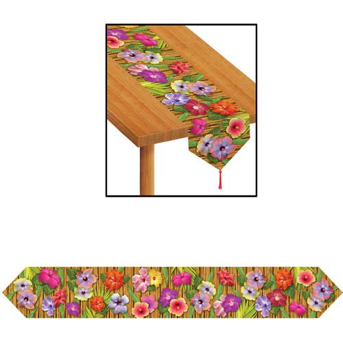 Printed Luau Table Runner
