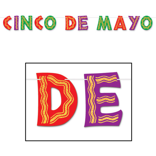 Cinco De Mayo Streamer