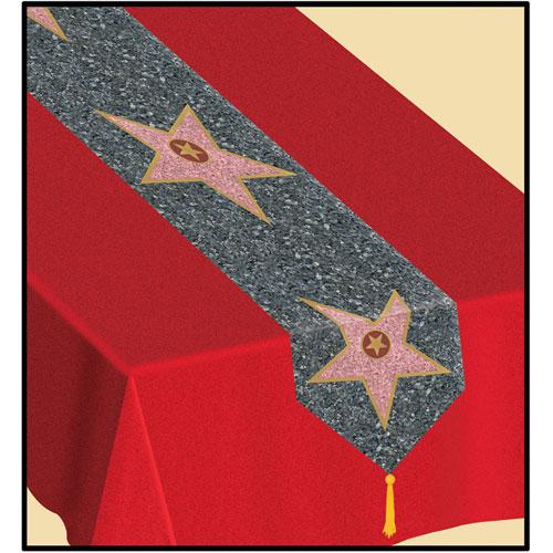 Printed  Star  Table Runner
