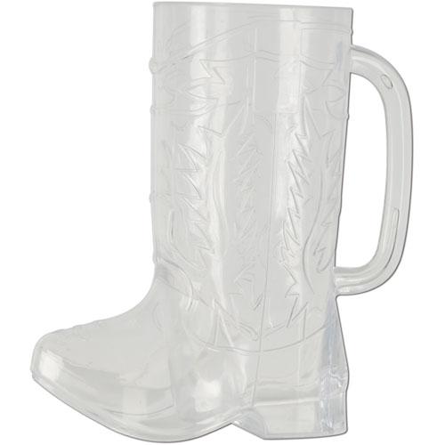 Plastic Cowboy Boot Cup