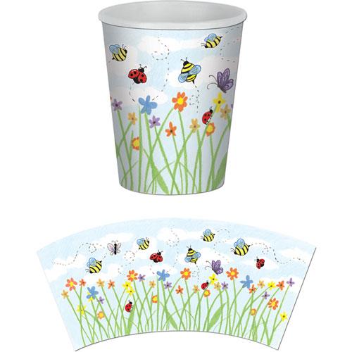 9oz Spring Garden Cups