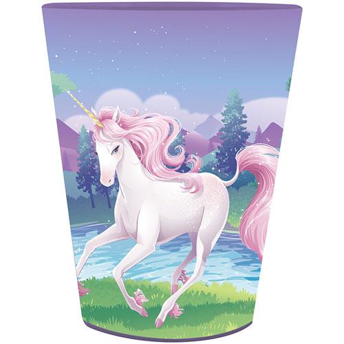 Unicorn Fantasy 16 Oz Plastic Keepsake Cup