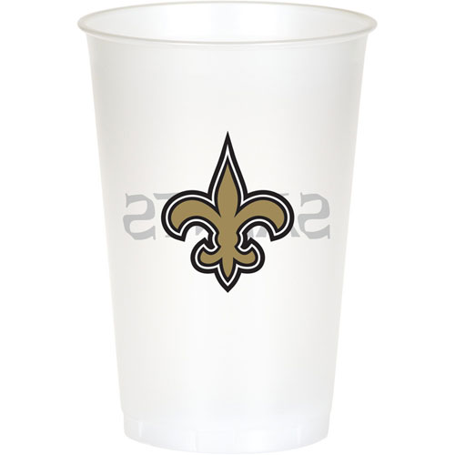 New Orleans Saints 20oz Plastic Cups (8ct)