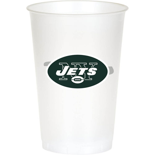 New York Jets 20oz Plastic Cups (8ct)