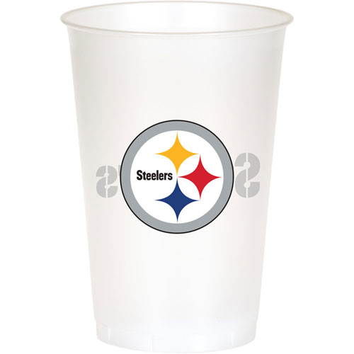 Pittsburgh Steelers 20oz Plastic Cups (8ct)