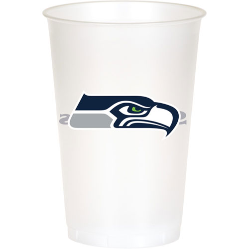 Seattle Seahawks 20oz Plastic Cups (8ct)