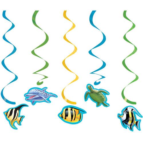 Ocean Party Dizzy Danglers