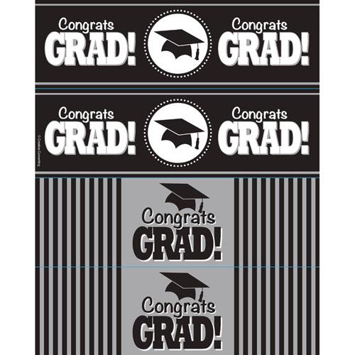 Bottle Labels, Congrats Grad