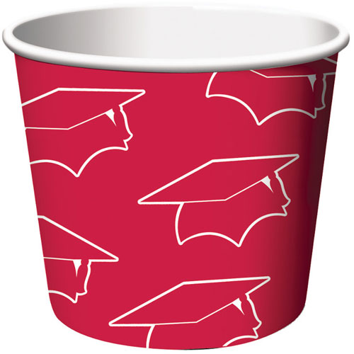 Treat Cups, Grad, Red