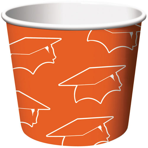 Treat Cups, Grad, Orange