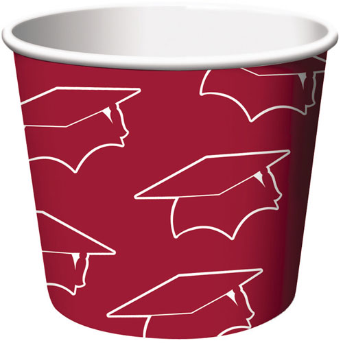 Treat Cups, Grad, Burgundy