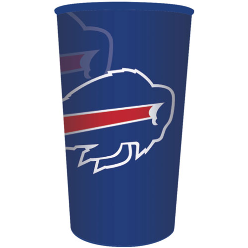 Buffalo Bills 22oz Plastic Favor Cup