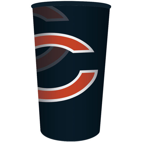 Chicago Bears 22oz Plastic Favor Cup
