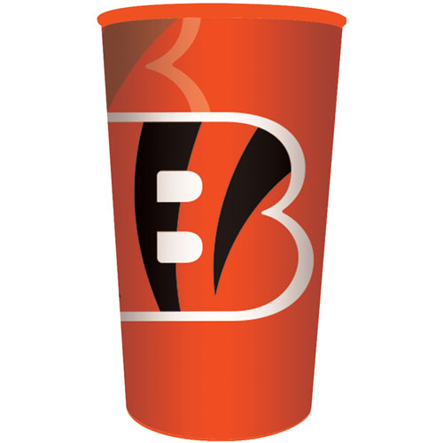 Cincinnati Bengals 22oz Plastic Favor Cup