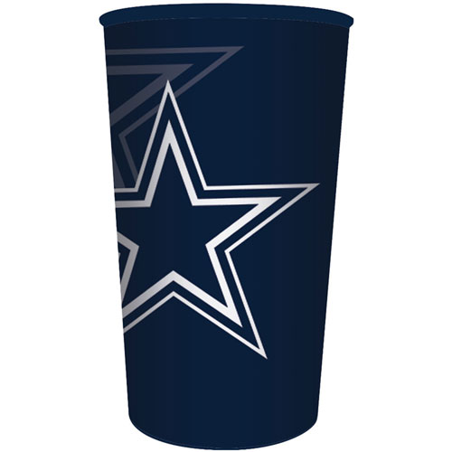 Dallas Cowboys 22oz Plastic Favor Cup