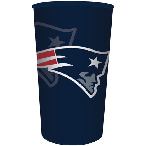 New England Patriots 22oz Plastic Favor Cup