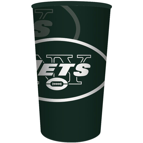 New York Jets 22oz Plastic Favor Cup
