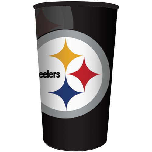Pittsburgh Steelers 22oz Plastic Favor Cup