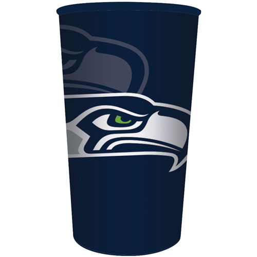 Seattle Seahawks 22oz Plastic Favor Cup