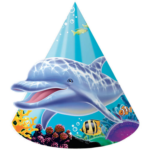 Ocean Party Party Hats, Child Size