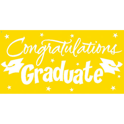Gigantic Greetings, Congrats Grad, Yellow