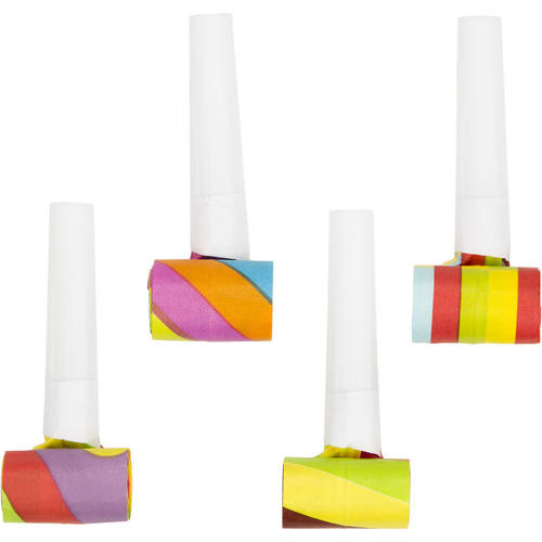 Assorted Multicolor Blowouts (4 ct)
