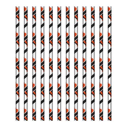 Cincinnati Bengals Paper Straws (24ct)