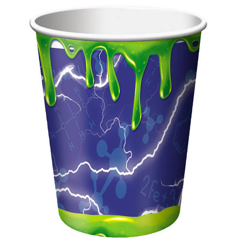Mad Scientist 9oz Paper Cups (8 ct)
