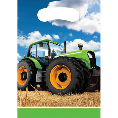 Tractor Time Loot Bags (8 ct)