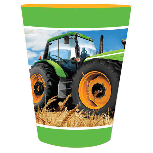 Tractor Time 16oz Favor Cup
