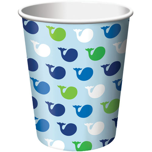 Ocean Preppy Boy 9oz Cups (8ct)