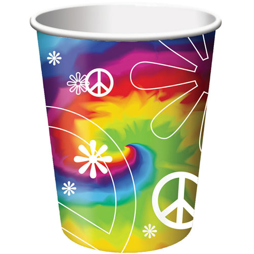 Tie Dye Fun 9oz Cups (8ct)