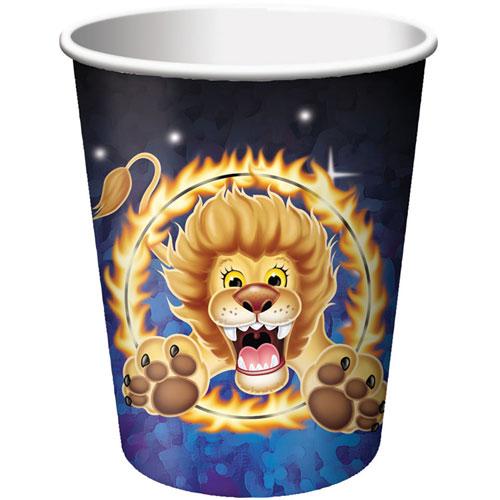 Big Top Birthday 9oz Cups (8ct)
