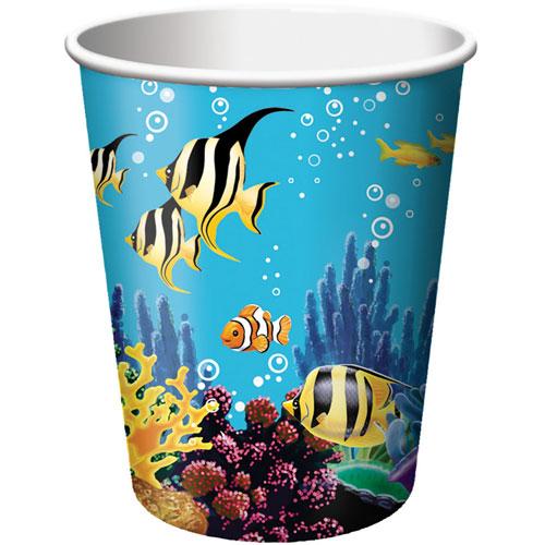 Ocean Party 9oz Cups (8ct)