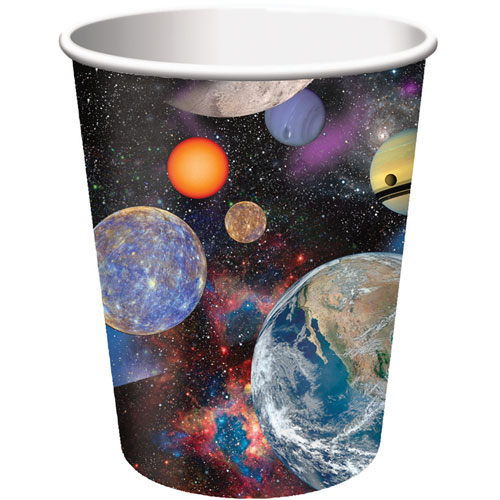 Space Blast 9oz Cups (8ct)