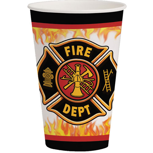 Fire Watch 12oz Cups (8ct)
