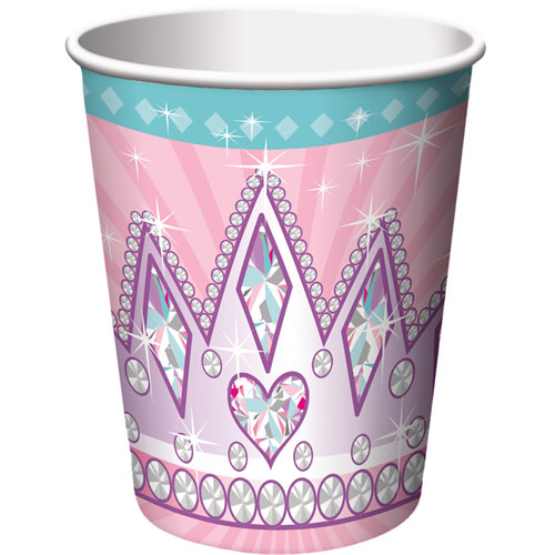 Princess Party 9oz Cups (8ct)