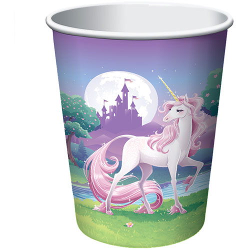 Unicorn Fantasy 9oz Paper Cups (8ct)