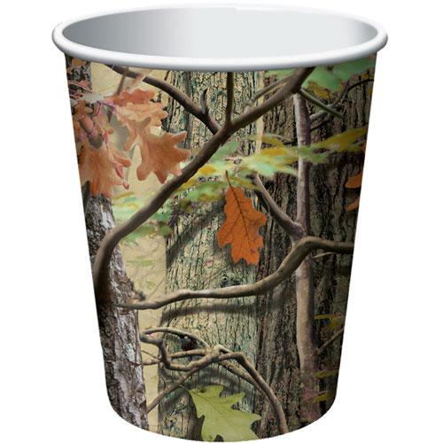 Hunting Camo 9oz Cups (8ct)