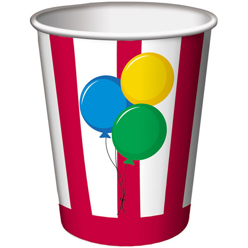 Circus Time! 9oz Cups (8ct)
