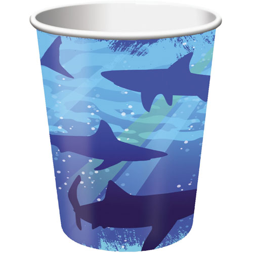 Shark Splash 9oz Cups (8ct)