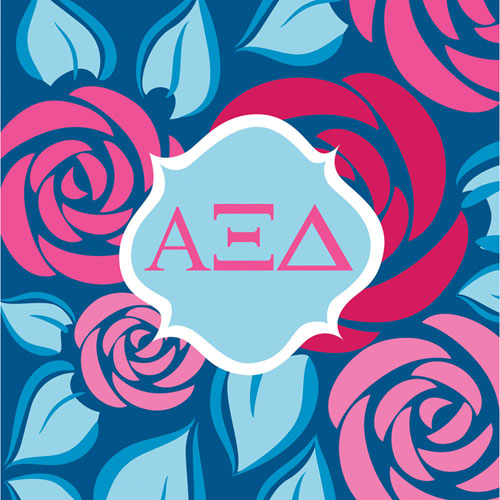 Alpha Xi Delta Beverage Napkins (50ct)