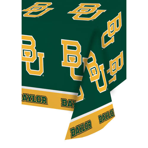 Baylor University Plastic Tablecover