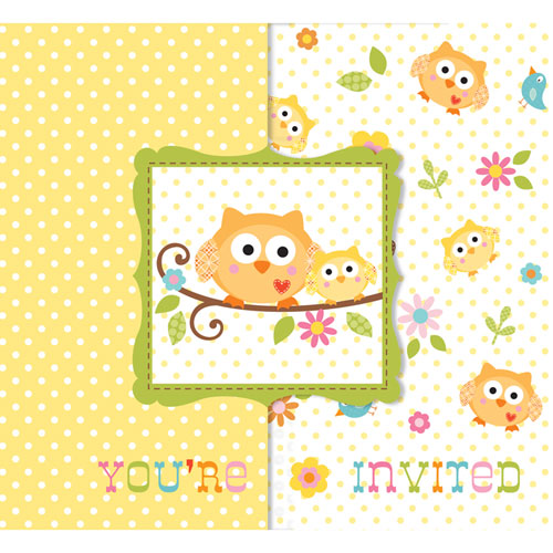 Happi Tree Invitations Value Pack