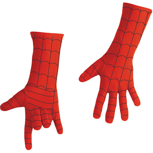 Spider-man Adult Gloves Deluxe Adult