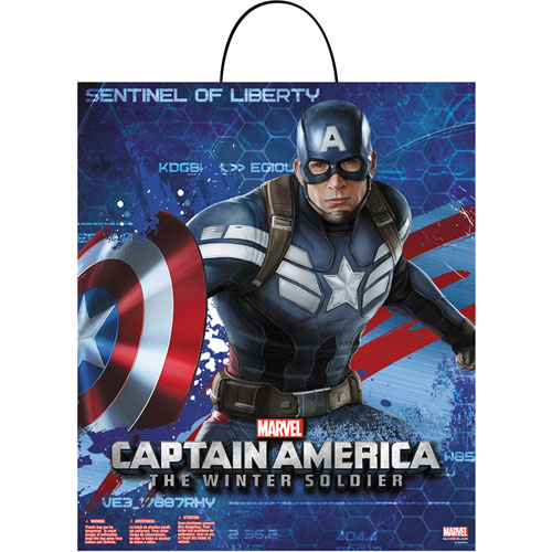 Captain America Winter Soldier Treat Bag