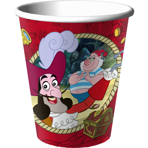 Jake and the Never Land Pirates 9 oz Paper Cups